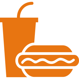 Logo van eten en drinken